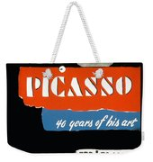 Picasso 40 Years Of His Art  Weekender Tote Bag