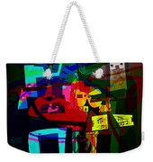 Picasso With A Twist Of Color. Weekender Tote Bag