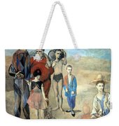 Picasso's Family Of Saltimbanques Weekender Tote Bag