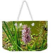 Pickerel Weed Plant Weekender Tote Bag