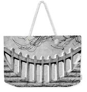 Picket Moon - Fence - Wall Weekender Tote Bag