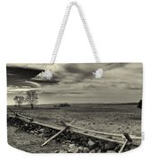 Picketts Charge The Angle Black And White Weekender Tote Bag