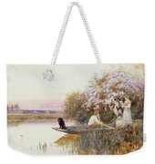Picking Blossoms Weekender Tote Bag