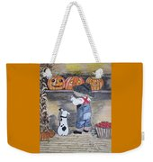 Picking Out The Halloween Pumpkin Weekender Tote Bag