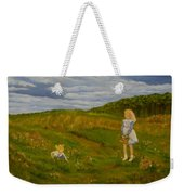Picking Wildflowers Weekender Tote Bag