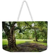 Picnic At The Park Weekender Tote Bag