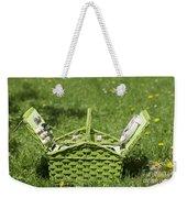 Picnic Basket Weekender Tote Bag