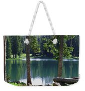 Picnic By The Lake Weekender Tote Bag