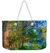 Picnic By The Methow River Weekender Tote Bag