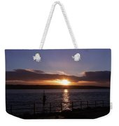 Picnic Sunset Vancouver Island Weekender Tote Bag