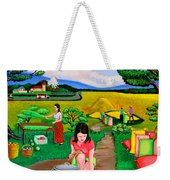 Picnic With The Farmers Weekender Tote Bag
