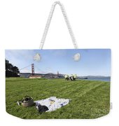 Picnicking At Golden Gate Park Weekender Tote Bag