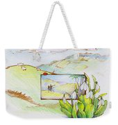 Picture In Picture Weekender Tote Bag