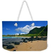 Picture Perfect Haena Beach Weekender Tote Bag