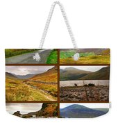 Autumn Picture Window Of The Lake District Weekender Tote Bag