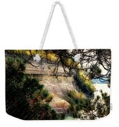 Pictured Rocks In Pastel Weekender Tote Bag