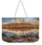 Picturesque Blue Canyon Formations Weekender Tote Bag