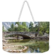 Picturesque Bridge In Yosemite Valley Weekender Tote Bag