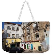 Picturesque Houses In Lisbon Weekender Tote Bag