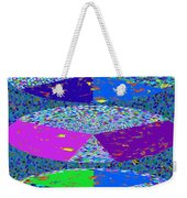 Pie Chart Twirl Tornado Colorful Blue Sparkle Artistic Digital Navinjoshi Artist Created Images Text Weekender Tote Bag