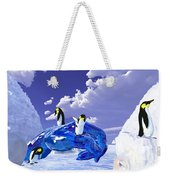 Piece Of Ice Weekender Tote Bag