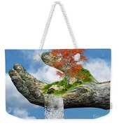 Piece Of Nature Weekender Tote Bag