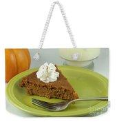 Piece Of Pumpkin Pie Weekender Tote Bag