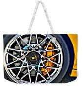 Piece Of Yellow Lamborghini Weekender Tote Bag