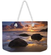 Pieces Of Eight Weekender Tote Bag by Mike  Dawson