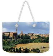 Pienza A Hill Town In Tuscany Weekender Tote Bag