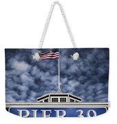 Pier 39 Weekender Tote Bag by Dave Bowman