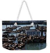 Pier 39 San Francisco Bay Weekender Tote Bag