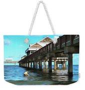 Pier 60 - Clearwater Florida  Weekender Tote Bag