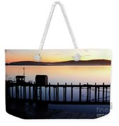 Pier At Bodega Bay California Weekender Tote Bag