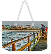 Pier Fishing 2 Weekender Tote Bag
