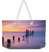 Pier Into The Past 16x9 Weekender Tote Bag