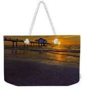 Pier Into The Sun Weekender Tote Bag
