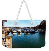 Pier Pressure - Lake Norman Weekender Tote Bag