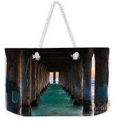 Pier Pylons Weekender Tote Bag