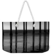 Pier Reflections Weekender Tote Bag