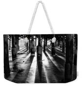 Pier Shadows Weekender Tote Bag