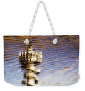 Pier Tower Weekender Tote Bag by Dave Bowman