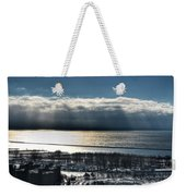 Piercing Cold Rays Upon The Waters Winter 2013 Weekender Tote Bag