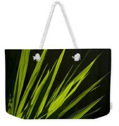 Piercing Green Weekender Tote Bag