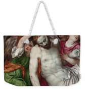 Pieta And Angels Weekender Tote Bag