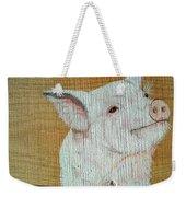 Pig Smile Weekender Tote Bag