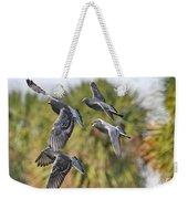 Pigeon Brigade Weekender Tote Bag