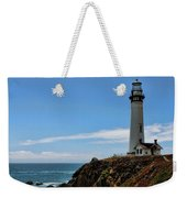 Pigeon Point Lighthouse Vertical Weekender Tote Bag