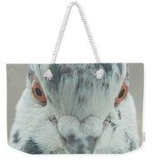 Pigeon Portrait En Face Weekender Tote Bag