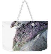 Pigeon Portrait Weekender Tote Bag